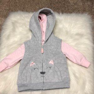 Carter's Newborn Hooded Vest & Jacket